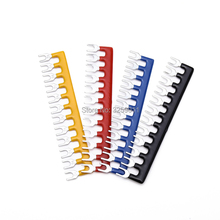 40PCS Pre Insulated Fork Type Terminal TB1512 / TBD-15A Wire Connector Barrier Strip Jumper Connector 15A 12 Positions Kit a985got tbd a985got tbd v touch pad touch pad