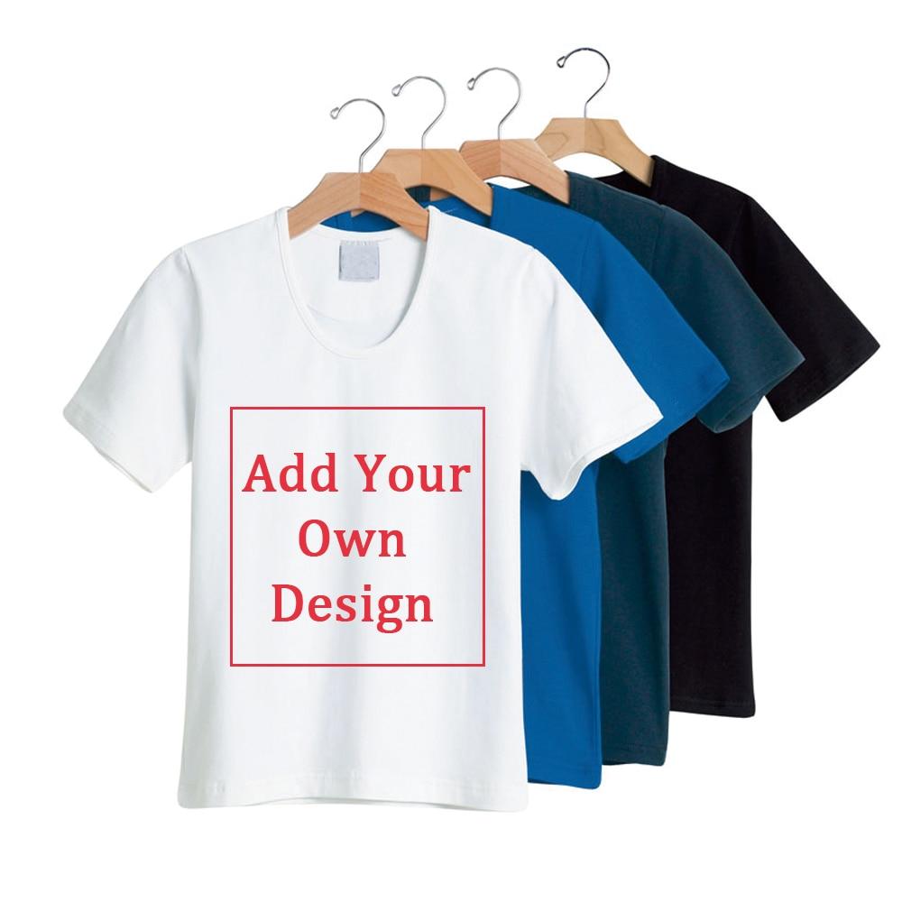 Menwomen Cotton T Shirt Custom Logo Personalized T Shirts Free