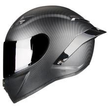Полнолицевой шлем из углепластика горные DOT утвержденный мотоциклетный гоночный шлем kask