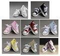 Wholesale 5PCS/LOT 2015 Fashion Various Color BJD Doll  Shoes Canvas BJD 1/4 Shoes