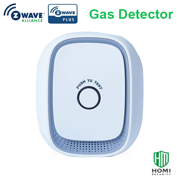 Wireless Smart Z-wave Plus 868.42mhz Smart Natural Gas Sensor,coal,LPG Combustible Gas Leakage Detector Z-wave
