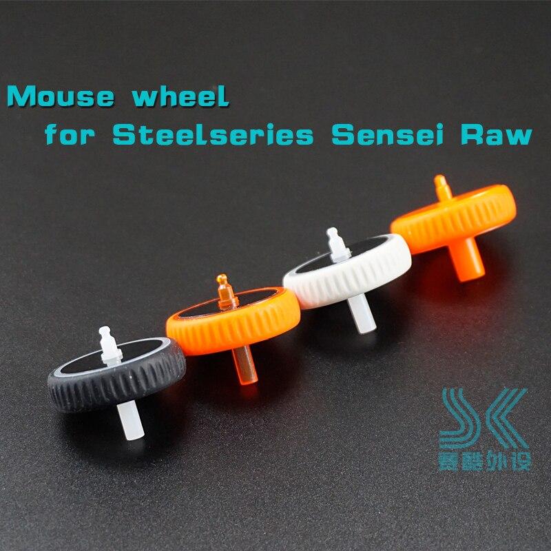 Mouse Wheel For SteelSeries Sensei RAW XAI KANA V1 V2 SS Roller Frosty White Fever Orange Black Wheel Accessoires
