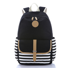 2017 fashion Brand women's backpacks Computer Laptop Backpack Casual Teenagers Girls School Bags Canvas Female Travel Rucksack