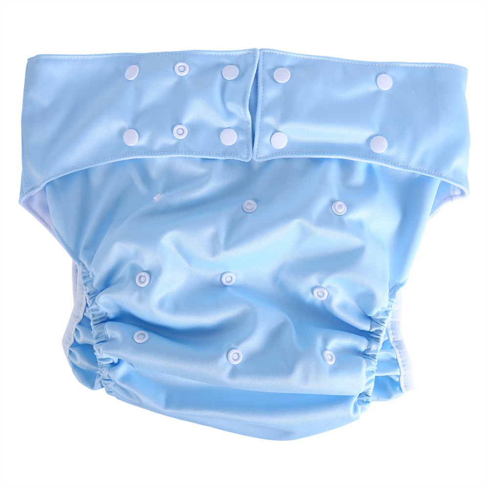 Randomly 1pc Adult Diaper Pants Waterproof Incontinence Adult Diaper Cloth Reusable Machine Washable Disabled Adult Diapers