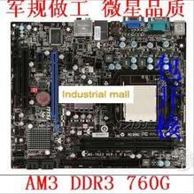 Original msi planetesimal am3 Desktop motherboard 760gm-p33 760g 780g ddr3 belt ide interface