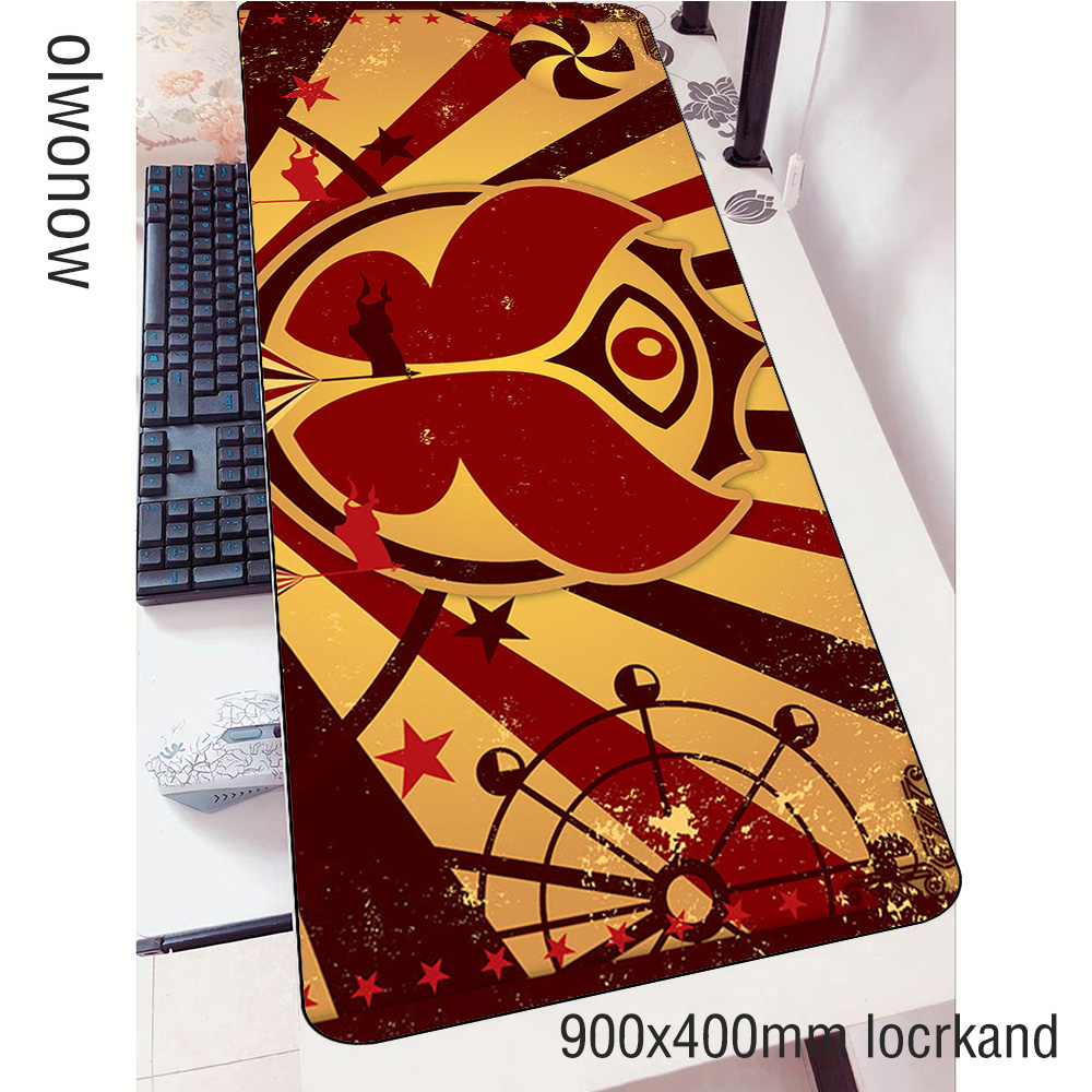 tomorrowland <font><b>padmouse</b></font> <font><b>900x400x3mm</b></font> gaming mousepad locked edge mouse pad gamer computer desk New arrival mat notbook mousemat pc image