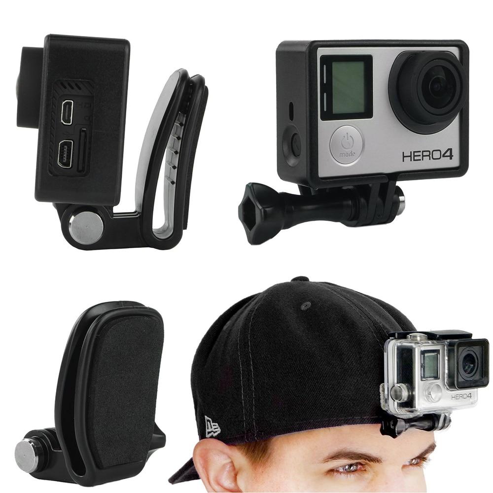 gopro adjustable head strap mount hat quick clip mount. Black Bedroom Furniture Sets. Home Design Ideas