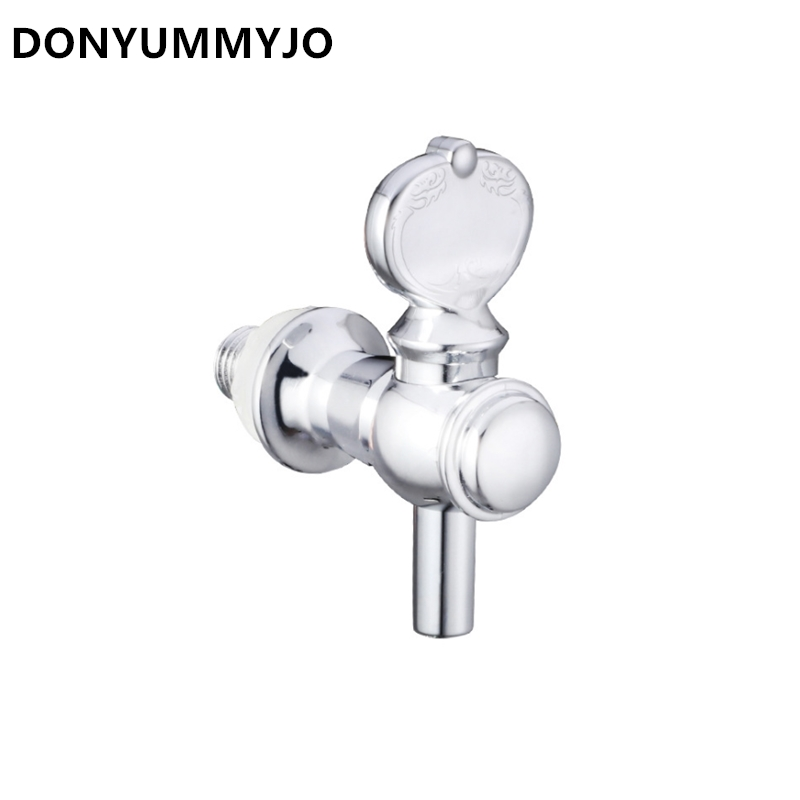 Bathroom Sinks,faucets & Accessories Logical 1pc Abs Chrome Finish Beverage On Wooden Barrel Glass Bottle Faucet Miniature Tap Bibcocks 12mm Dependable Performance Bathroom Fixtures