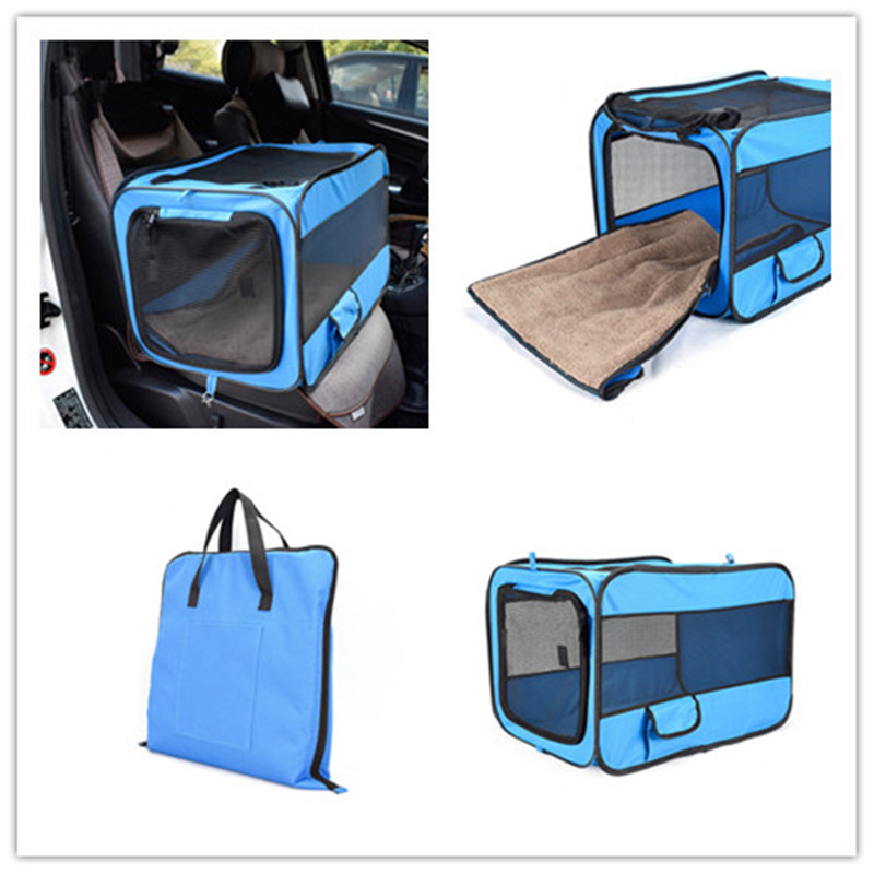 Pets Carrie Bag Travel 2 in 1 Carrier For Dogs Folding Thick Pet Cat Dog Car