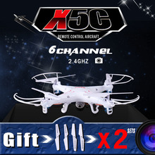 100% Original SYMA X5C (Upgrade Version) RC Drone With 2MP HD Camera 6-Axis RC Quadcopter Helicopter X5C Dron With Camera