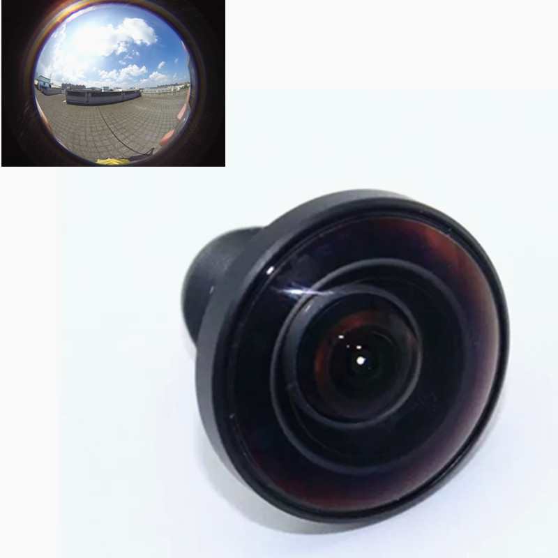 Fisheye Lens for Go Pro 1/2.3 16 Megapixel 1.2mm 220 Degree Super Lens for Gopro Hero 4 3 3+ Black / Silver Edition Accessories zea qjsyy235 universal clip style 235 degree fisheye lens for iphone ipad more white black
