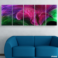 2015 Special Design Wedding Decoration Wall Art Wall Metal Painting Wall Painting Flower Decorative Pictures For