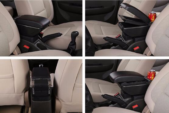 Arm Rest For Suzuki Sx4 2007 2013 Center Centre Console Storage Box Armrest Rotatable 2008 2009 2010 2011 2012 in Armrests from Automobiles Motorcycles