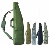 Military Army 120cm Gun Bag Case Paintball Hunting Tactical Airsoft Shooting Rifle Carbine Shotgun Cushion Padded Slip Gun Bag