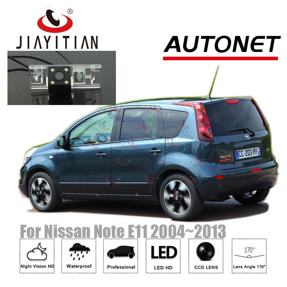 JIAYITIAN Rear View Camera For Nissan Note/Tone NOTE E11 2005~2013 Night Vision/CCD Reverse Camera License Plate Camera Backup
