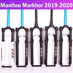 Bike Fork Manitou MARKHOR 26 27.5inchs 29er Mountain MTB Bicycle Fork air Front Fork suspension 2019 Manual control remote lock