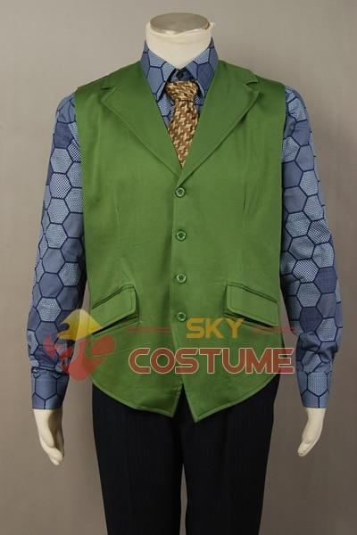 Batman Dark Knight Joker Hexágono Hombres adultos Camisa + Chaleco - Disfraces - foto 3