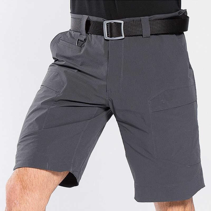 Military Männer Sommer Casual Shorts Männer Marke Neue Board Shorts Stretch Quick Dry Atmungsaktive Elastische Taille Mode Beiläufige Kurze Männer