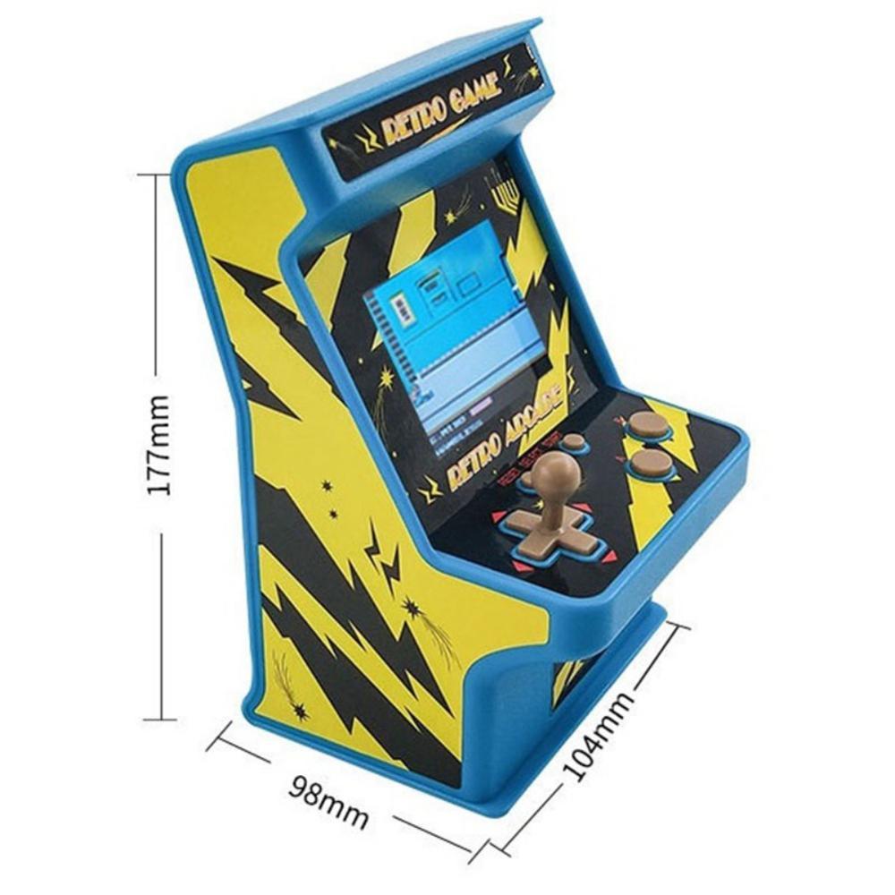 מחשבי וברזי השקיה נתונים צפרדע רטרו מיני ארקייד כף יד קונסולת המשחקים 16 Bit Game Player מובנה 156 משחקים קלאסיים צעצוע מתנה לילדים (2)