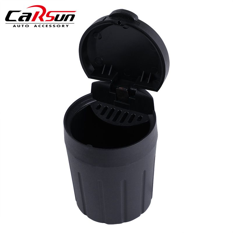 Mini Car Trash Bin Auto Waste Bin Portable Vehicle Rubbish Can Trash Dustbin Garbage Dust Bin for Auto Ashtray Car Accessories partol mini car garbage can auto trash can dust case holder office home vehicle rubbish bin with lid black white car accessories