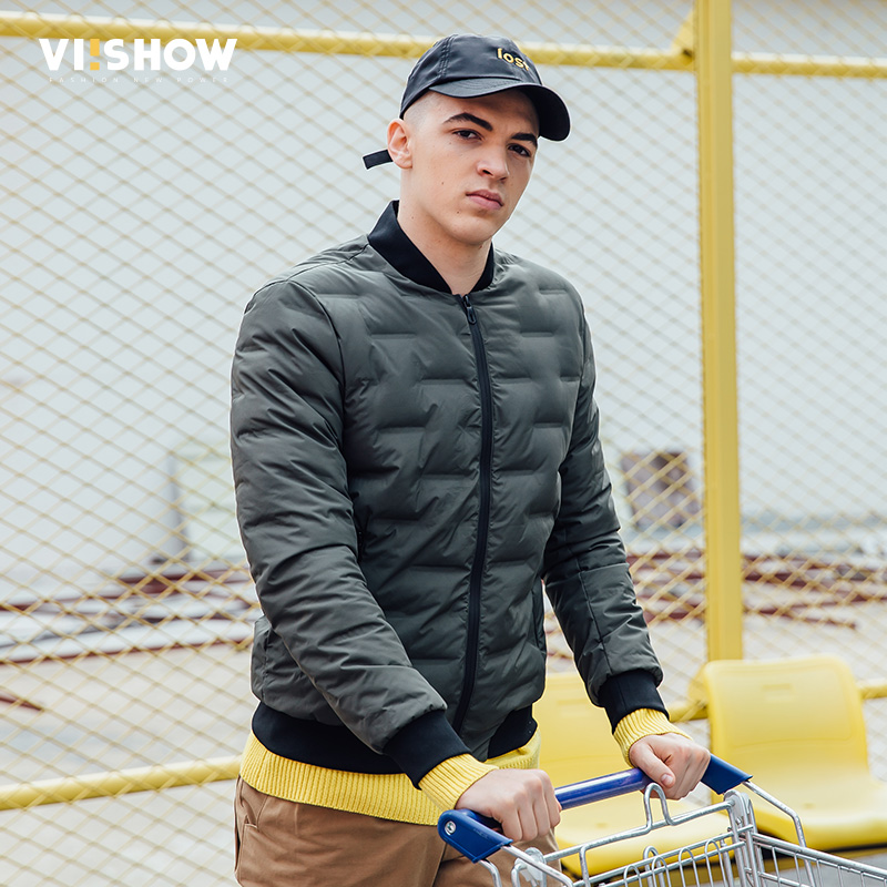 VIISHOW Brand New Mens Jacket Winter Hot Sale Parka Jacket Men Fashion Coats Casual Outwear Windbreak Warm Jackets Men YC2734174 winter jacket men warm coat mens casual hooded cotton jackets brand new handsome outwear padded parka plus size xxxl y1105 142f