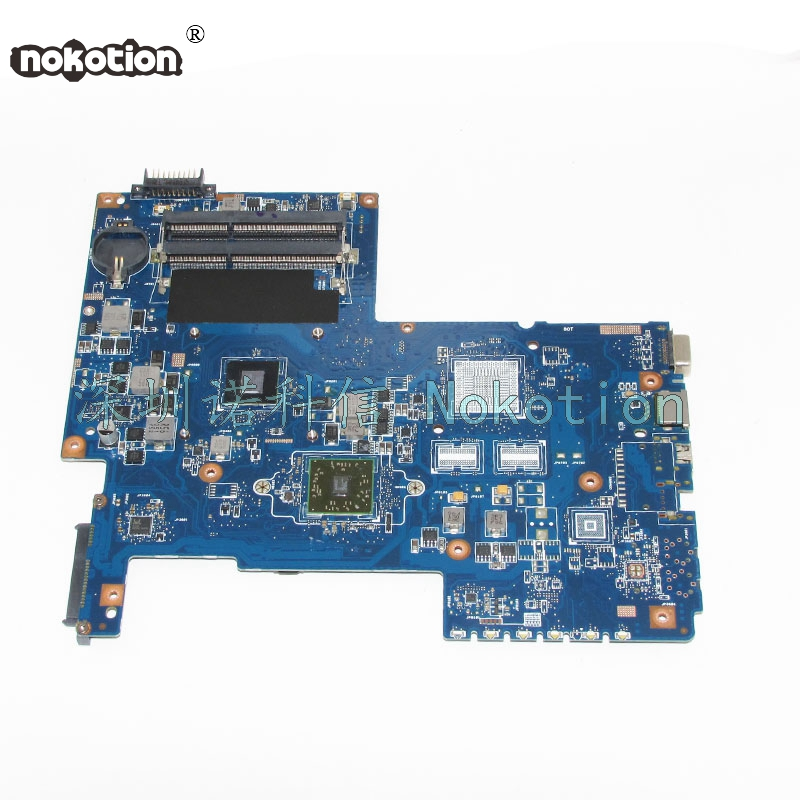 NOKOTION For Toshiba Satellite C670 C670D Laptop motherboard PN 08N1-0NG0G00 Mainboard nokotion for acer aspire 5750 laptop motherboard p5we0 la 6901p mainboard mbrcg02005 mb rcg02 005 mother board