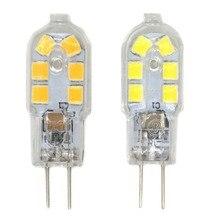 G4 Base 1.5W  Light Lamp Bulb 12 SMD 2835 250 lm LED Bulb, Bi-Pin Base, 20W Halogen Equivalent, DC Volt, 10-Pack