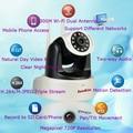 2-антенны 300 М AP Wi-Fi P2P 720 P Мегапиксельная Wireless Pan Tilt Ip-камера Главная Радионяня Робот Няня Камеры Видео Мобильных телефон