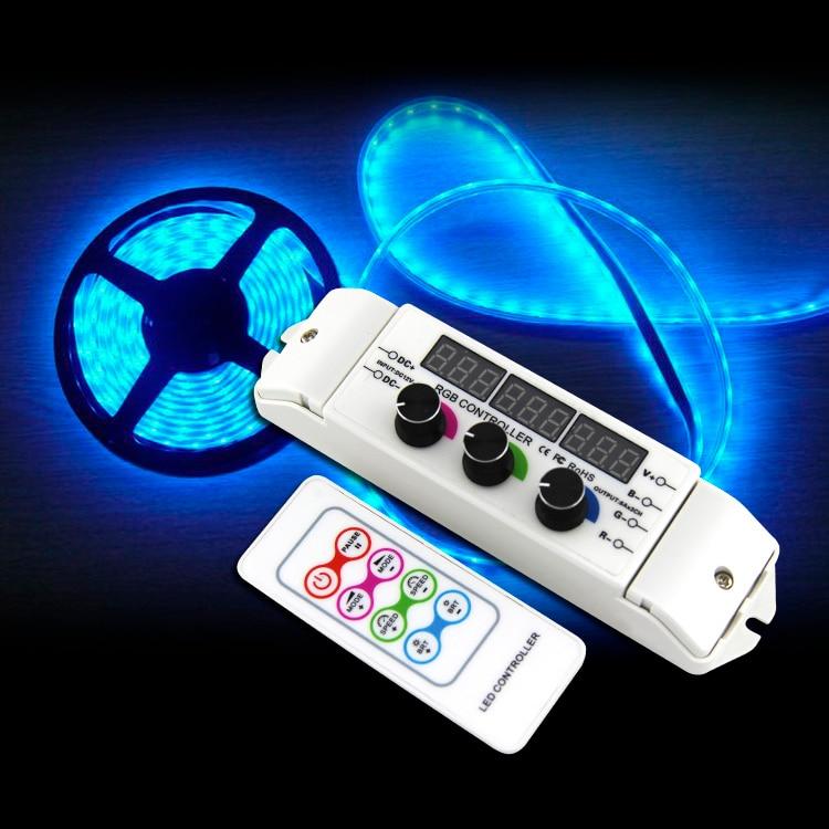 LED RGB RGBW Strip LED Controller multi function light display controller, 4CH RGBW LED Controller for SMD 5050 2835 LED Light good group diy kit led display include p8 smd3in1 30pcs led modules 1 pcs rgb led controller 4 pcs led power supply
