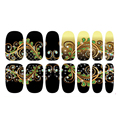 Hpt Sales 1 Sheets Nail Art Water Transfer Stickers 3D Design Manicure Tips Decoration M02540