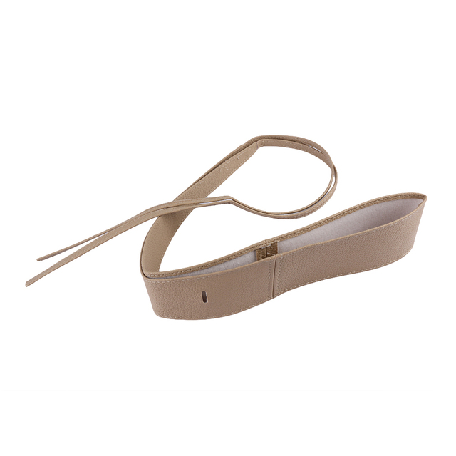 Elegant Fashion Soft Faux Leather Wide Belt