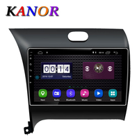 KANOR 9 inch Quad Core Android 8.1 Car Radio Stereo Player GPS Navigation for KIA K3 Cerato Forte 2013 2016 with Headunit WIFI