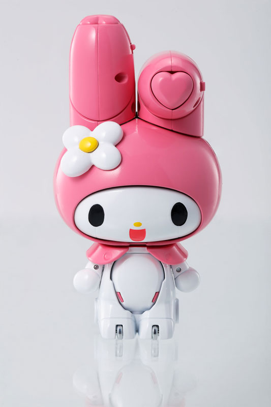 Japan Anime Original BANDAI Tamashii Nations Chogokin Action Figure - Onegai My Melody japan anime ufo robot grendizer original bandai tamashii nations soul of chogokin gx 76 action figure grendizer d c