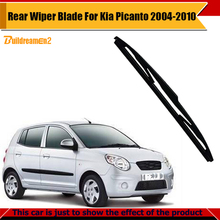 Buildreamen2 Car Rear Window Windshield Soft Rubber Frameless Wiper Blade For Kia Picanto 2004-2010 Free Shipping !