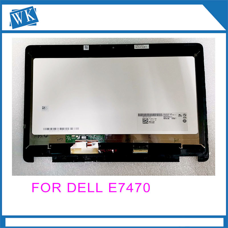 For Dell latitude 14 E7470 E7480 LCD touch screen assembly A Grade