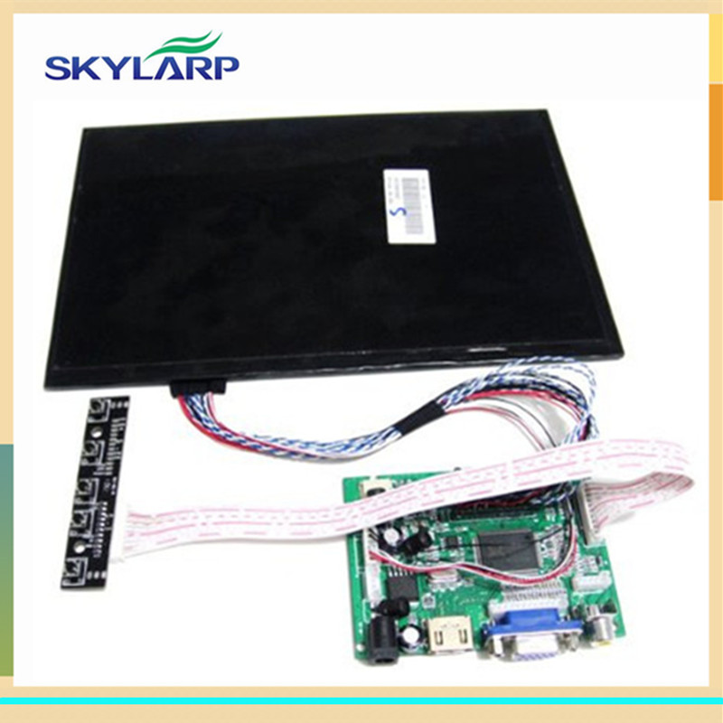 skylarpu 10.1 inch 1280*800 LCD Screen TFT Monitor Remote Driver Control Board 2AV HDMI VGA for Rasbperry Pi (without touch) 12 inch 12 1 inch vga connector monitor 800 600 song machine cash register square screen lcd industrial monitor display