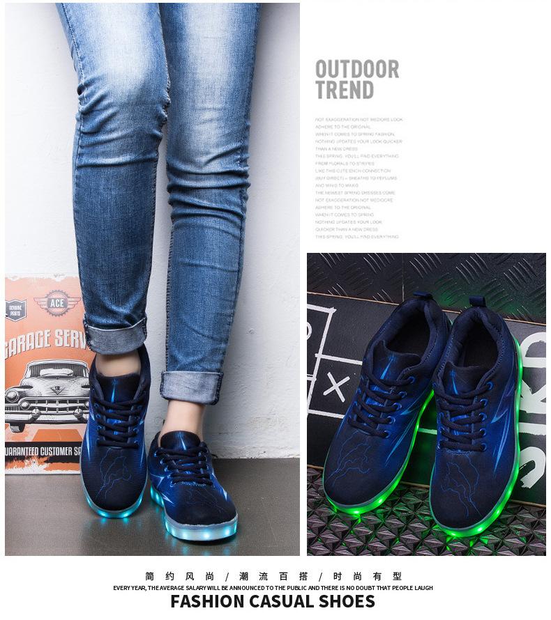 Led Sneakers Lightning 18