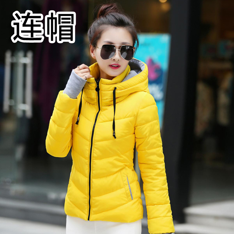 Wadded 2017 Winter Women Casual Thick Warm Cotton Clothing Outwear Jacket Parkas Hooded Coats Casacos De