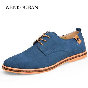 Oxford Shoes for Men Leather F