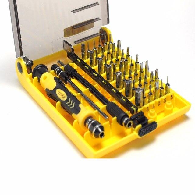 Точность 45 в 1 Electron мини Магнитная Отвёртки набор инструментов ручной Ремонтный комплект ОТКРЫТИЕ Phone Инструменты