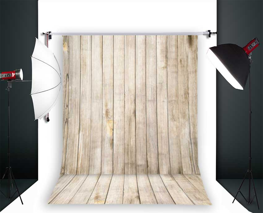 Photo Backdrops for Baby Photo Studio Children Wooden Floor Photography Props Background Vinyl 3x5ft Jieqx002