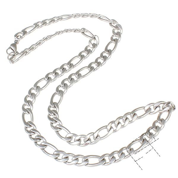 HTB1gP1GPVXXXXaKapXXq6xXFXXX2 - 2017 Silver Color Rope Link Stainless Steel Necklace Womens Mens Chain Boys Girls Dropship Long Necklace Jewelry 21inch