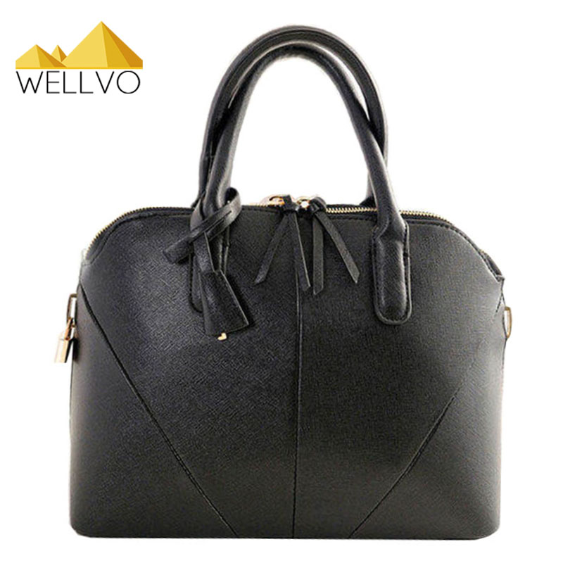 2017 Famous Brand Women Leather Handbag Designer Shell Shoulder Tote Bag Retro Crossbody Bag Messenger Bags bolsas mujer XA345C high quality women messenger bags ladies tote shoulder bag woman brand leather handbag crossbody bag with lock designer bolsas