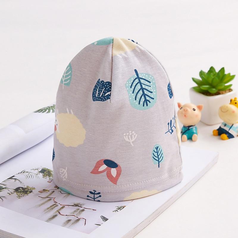 Новинка 2019, зимняя шапка для маленьких мальчиков и девочек, шапки для новорожденных, хлопковая шапочка для малышей на осень, мультяшная шапо...