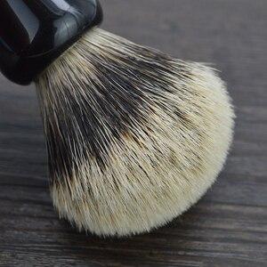 Image 3 - DSCOSMETIC Men 2 band Badger Hair and Black resin handle Shaving Brush