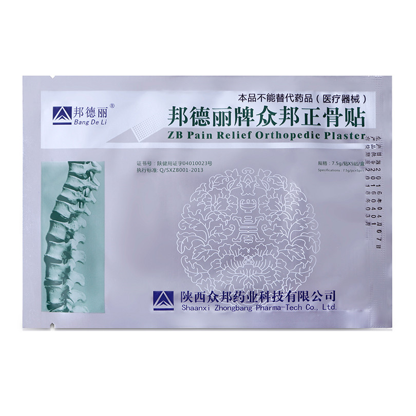20pieces/lot zb pain relief orthopedic plaster pain relief patch medicine medicated plaster back pain muscle rheumatic arthritis