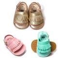 1pair Baby Sandals New Summer Fashion Tassel Baby Shoes Soft Bottom Shoes and Breathable Comfort Colorful TWS0219