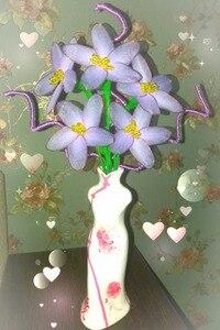 Image 4 - 20pcs ไนลอนถุงน่องดอกไม้ทำวัสดุ Handmade CRAFT อุปกรณ์เสริมประดิษฐ์ผ้าไหม Ronde ดอกไม้อุปกรณ์เสริม
