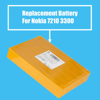 10Pcs/Pack Replacement Battery 1100mah for Nokia 7210 2100 3300 6220 6610 7250 I6260 6200 6610 6610i 7250i High Quality фото