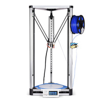 BIQU Metal Kossel Plus/Pro DIY 3D Printer Delta Large Printing Size with BLTouch Auto Bed Leveling Sensor and TFT35 Touch Screen